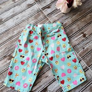 98% cotton size 8 girls shorts